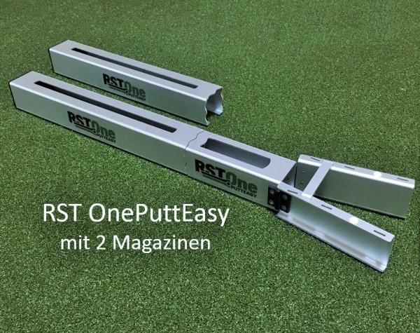 RST OnePuttEasy: Zwei Magazine