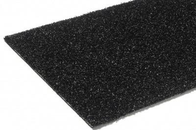 Kunstrasen Diamond (schwarz) 2,00 m - schwer entflammbar